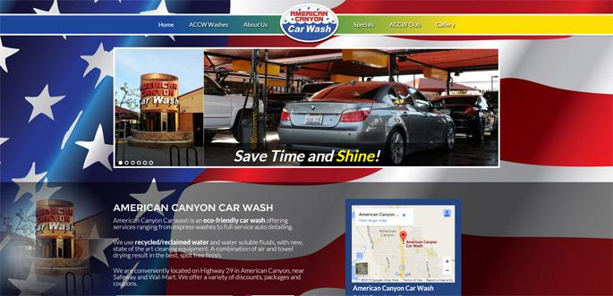 holiday car wash website template