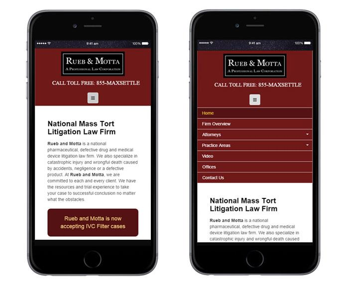Lawyer Marketing Responsive Design