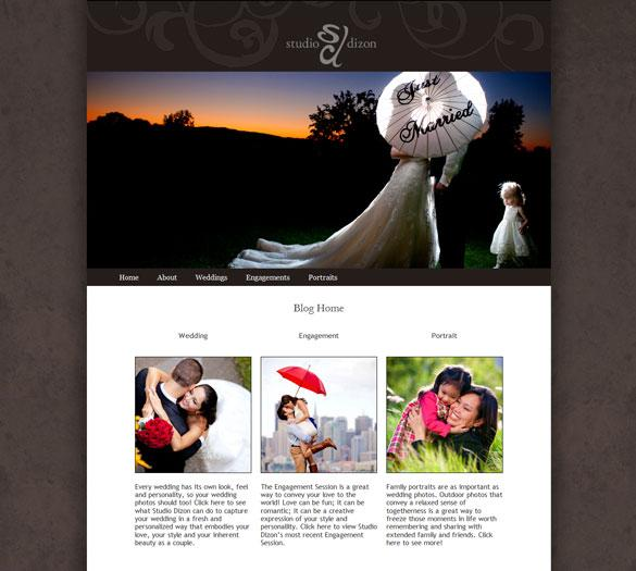 Custom Wordpress Template Design