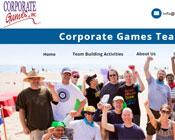 corporate team building web design